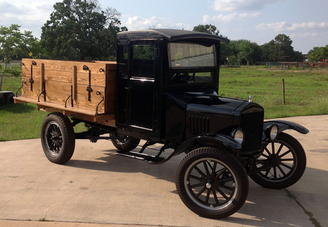 1921 ford model t dimensions