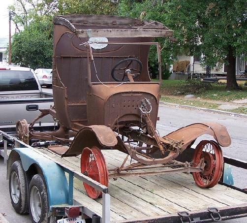 Rescuing Ford Model Ts And Fordson Tractors T Fords Of Texas